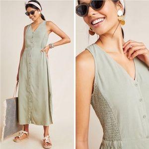 Cloth & Stone Matcha Maxi Dress NWT M